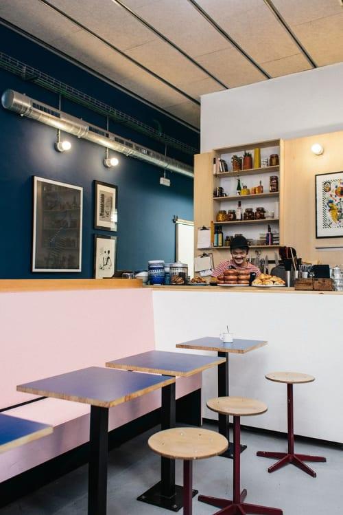 Interior Design by Owl seen at Satan's Coffee Corner, Barcelona - Interior Design