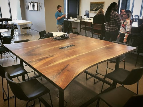 Tables by Stockton Heritage seen at Slalom Consulting, Minneapolis - Kitchen Table