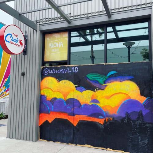 Street Mural   Street Murals by WHOSVLAD   Portuguese Bend Distilling in Long Beach