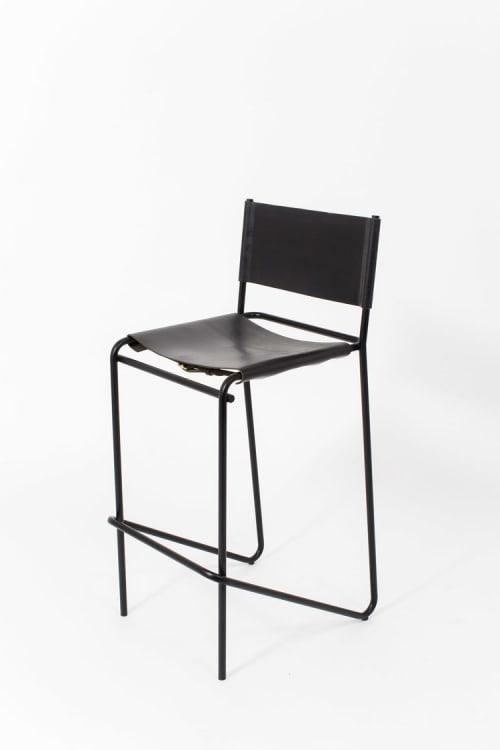 Chairs by Steven Bukowski seen at Private Residence, Bridgehampton - Flora Bar Stools