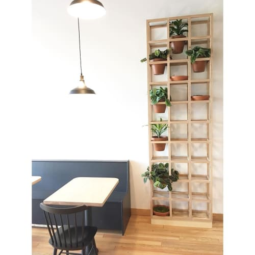 Furniture by Trey Jones Studio seen at Broadcast Coffee, Seattle - Custom Frame Planter
