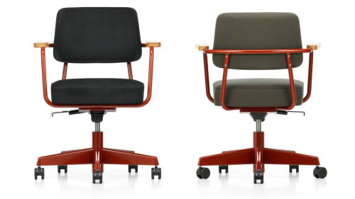 Chairs by Jean Prouvé seen at 11 Howard, New York - Fauteuil Direction Pivotant Office Chair