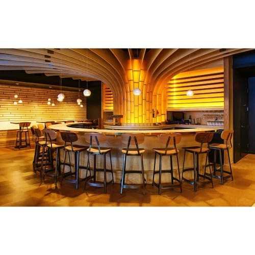 Pendants by lightexture seen at Flight Wine Bar, Washington - Claylight Pendants