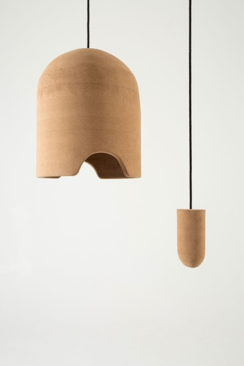 Furniture by Pierre-Emmanuel Vandeputte seen at Bon Jour, Bruxelles - Cork Helmet