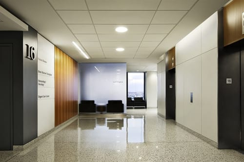 NYU Langone Medical Center, Public Service Centers, Interior Design