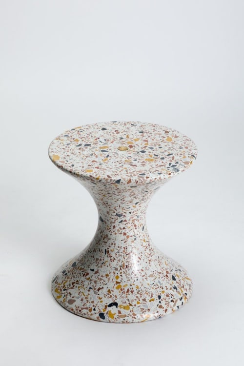 Chairs by LAUN seen at LAUN Studio, Los Angeles - Confetti Table