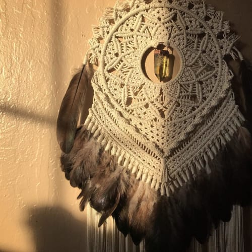 Macrame Wall Hanging by Marissa Nicole Studio seen at Private Residence - Macrame Wall Hanging