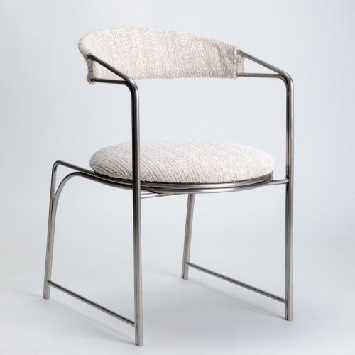 Chairs by LAUN seen at LAUN Studio, Los Angeles - Bacall Chair