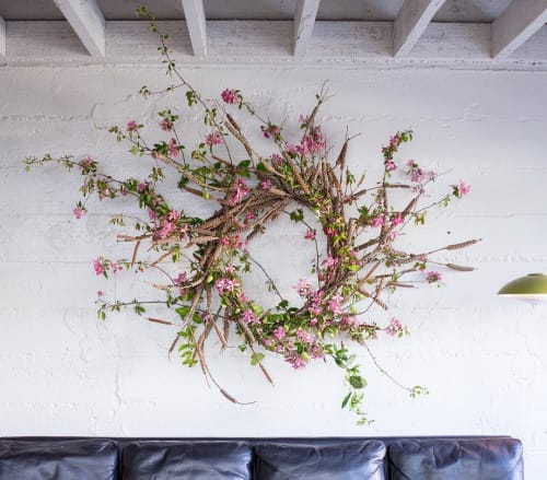 Floral Arrangements by The Petaler at The Progress, San Francisco - Celebratory Wreath