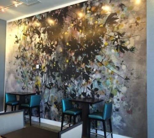 Floral   Paintings by Cara Enteles Studio   Hilton Cabana Miami Beach in Miami Beach