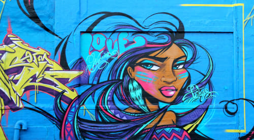 TooFly - Murals and Street Murals
