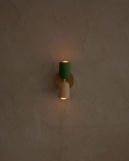 Sconces by In Common With seen at Domicile, Brooklyn - Up/Down Spot Wall Sconce