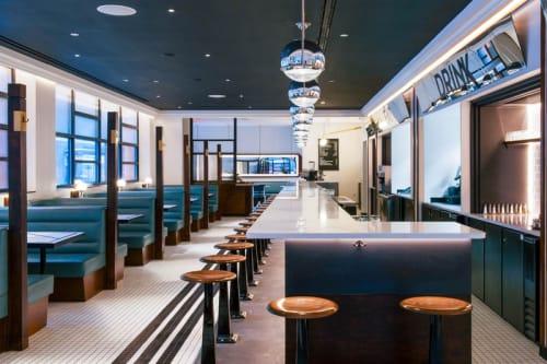 Interior Design by Dutch East Design and Warren Red seen at Nickel & Diner, New York - Nickel & Diner