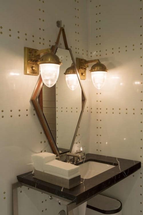 Lighting by AvroKO seen at Bourbon Steak, Glendale - Custom Light Fixtures