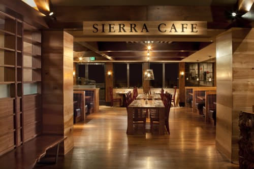Interior Design by CCS Architecture seen at Sierra Cafe, Incline Village - Design & Architecture