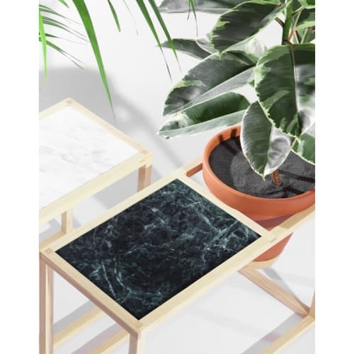 Tables by Trey Jones Studio seen at Trey Jones Studio, Washington - Frame Planter Side Table