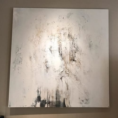 Paintings by Jeffrey Nemenzo seen at Banana Republic - Emeryville, Emeryville - Abstract Painting