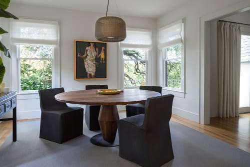 Tables by Shota Yamaguchi seen at Client Residence - Austin, Texas, Austin - Targu Jiu Table