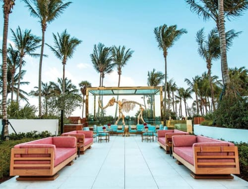 Couches & Sofas by Frank Pollaro seen at Faena Hotel Miami Beach, Miami Beach - Custom Yacht Furniture