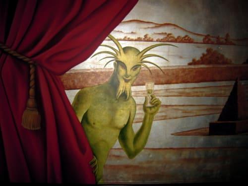 Murals by Willem Racké Studio seen at Absinthe Brasserie & Bar, San Francisco - Garden of Versailles Mural