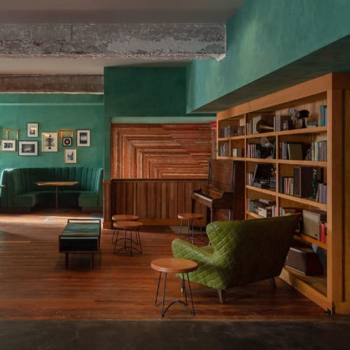 August Hall, Night Clubs, Interior Design