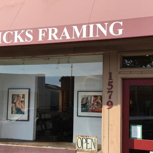 Paintings by Betsy Kendall seen at Sticks Picture Framing & Art, Berkeley - Figurative Paintings