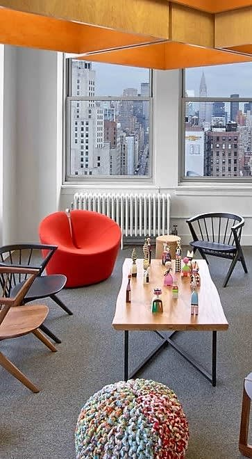 Chairs by Busk+Hertzog seen at Hudson Rouge, New York, New York - True Love Chair