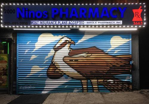 Street Murals by SOTEN seen at 3663 Broadway, New York - Osprey