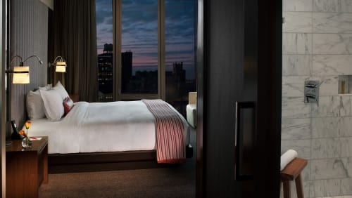 Lighting by McCARTAN seen at Kimpton Hotel Eventi, New York - Bedside Light