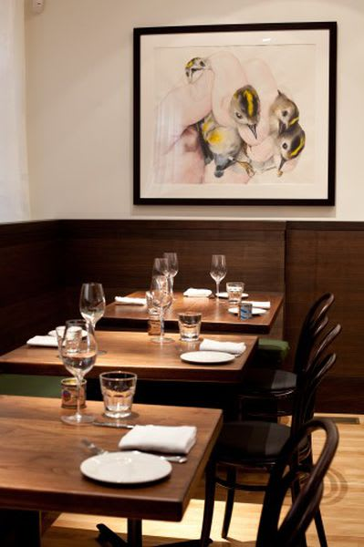 Paintings by Michael Hall seen at Locanda, San Francisco - Held Together 2011