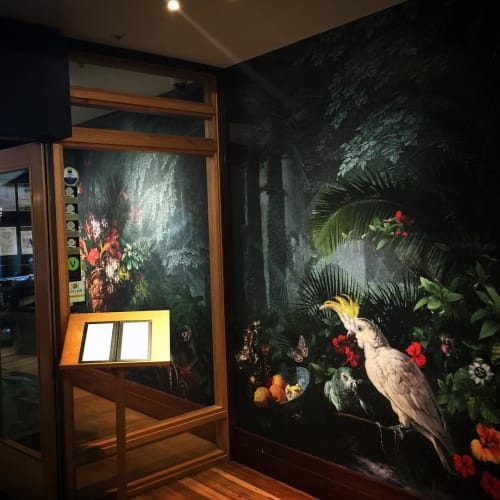 Wallpaper by Back To The Wall at Heritage Auckland, Auckland - Menagerie