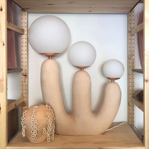 Lamps by Eny Lee Parker seen at Eny Lee Parker Studio, Savannah - Ooo Lamp and Vase