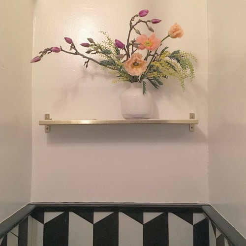 Floral Arrangements by Wallflower Design at The Riddler, San Francisco - Flowers in The Riddler