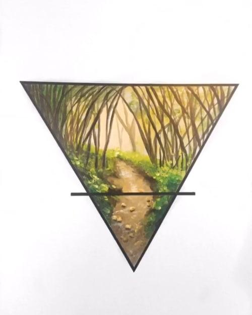 Alchemy Mural | Murals by Jacqueline Poirier | Alchemy Food & Drink in Toronto