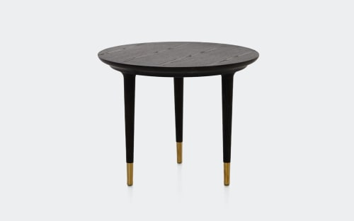 Tables by Space Copenhagen seen at 11 Howard, New York - Lunar Side Table