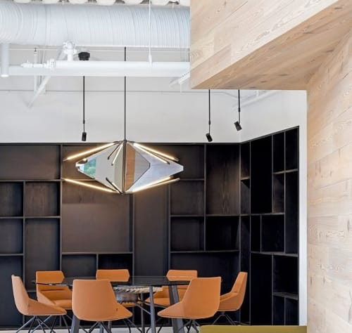 Lighting by Bec Brittain seen at Uber HQ, San Francisco - Shy Light