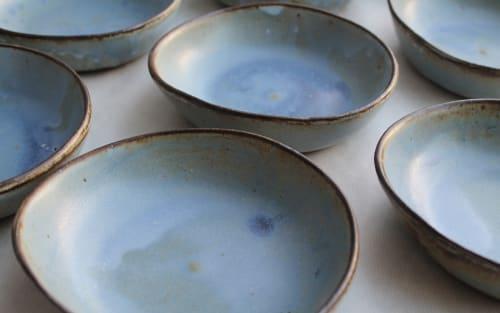 Tableware by Petersen Pottery seen at Malibu Farm Pier Cafe, Malibu - Little Whiskey Blue
