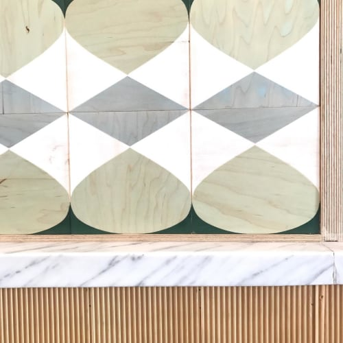 """Tiles by Moonish seen at Little Pine, Los Angeles - Music - The Fifth (Plywood """"tiles"""")"""