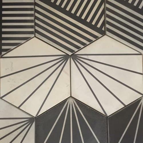 Tiles by Photoblox seen at St John's College, Johannesburg - Floor Tiles