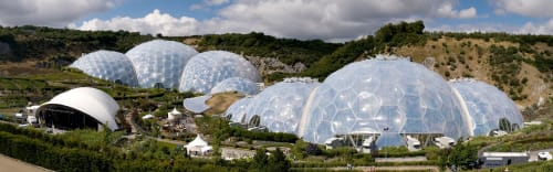 Eden Project, Cornwall, UK, Public Service Centers, Interior Design