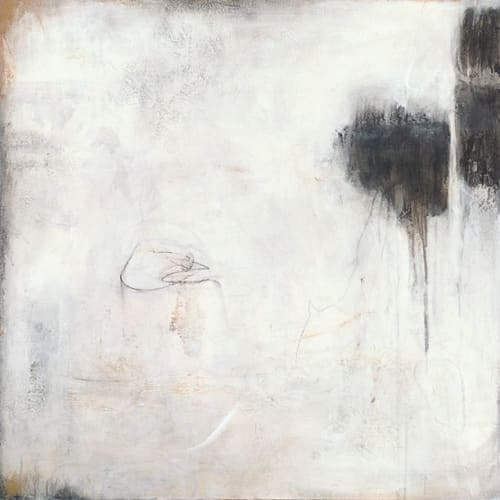 Paintings by Heidi Berrin Shonkoff seen at Private Residence, Atlanta - The Sounds of Silence