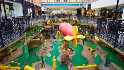 West Edmonton Mall, Stores, Interior Design