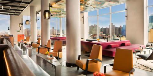Hotel Indigo Lower East Side New York, Hotels, Interior Design