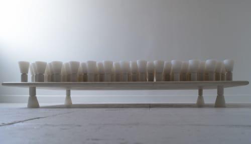Sculptures by Birnam Wood Studio seen at Birnam Wood Studio, Queens - Cloud Lounge