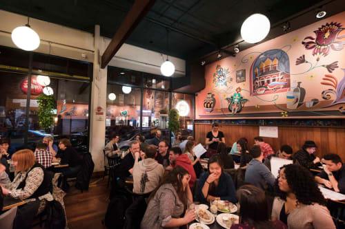 Veselka, Restaurants, Interior Design