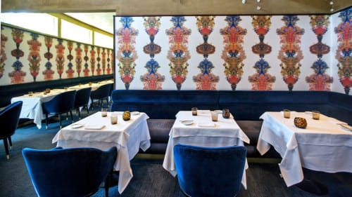Wallpaper by Timorous Beasties seen at Providence, Los Angeles - Grand Blotch Damask Wallpaper