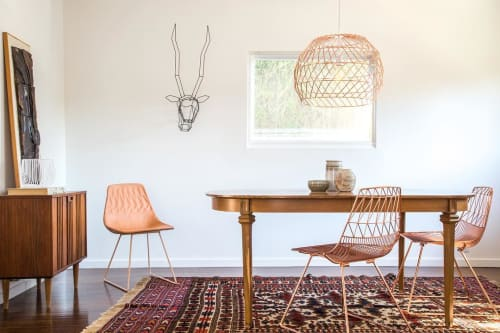 Chairs by Bend Goods seen at Private Residence, Los Angeles - Lucy Chair