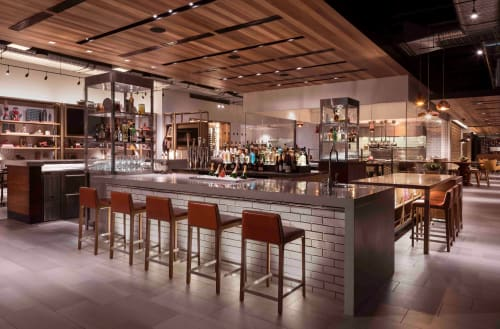 Chairs by Claudio Perin seen at Andaz Scottsdale Resort & Spa, Scottsdale - #JAZZ-6 Counter Stool