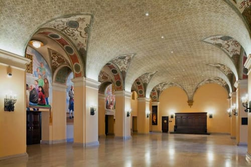 Bob Hope Patriotic Hall, Public Service Centers, Interior Design