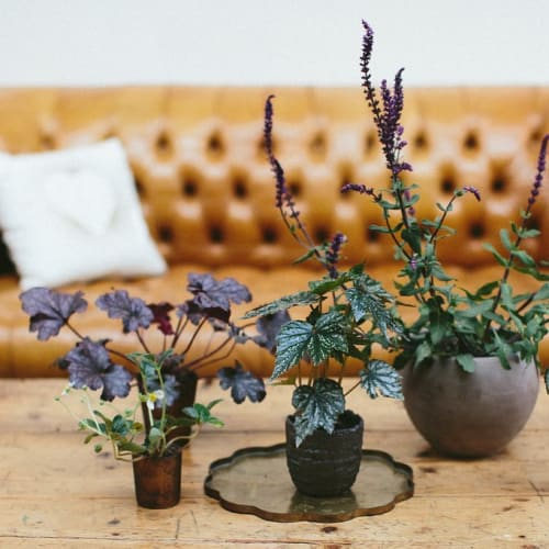 Floral Arrangements by Wallflower Design seen at Firehouse 8, San Francisco - Cool Florals